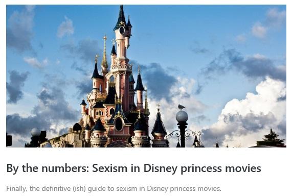sexism-disney